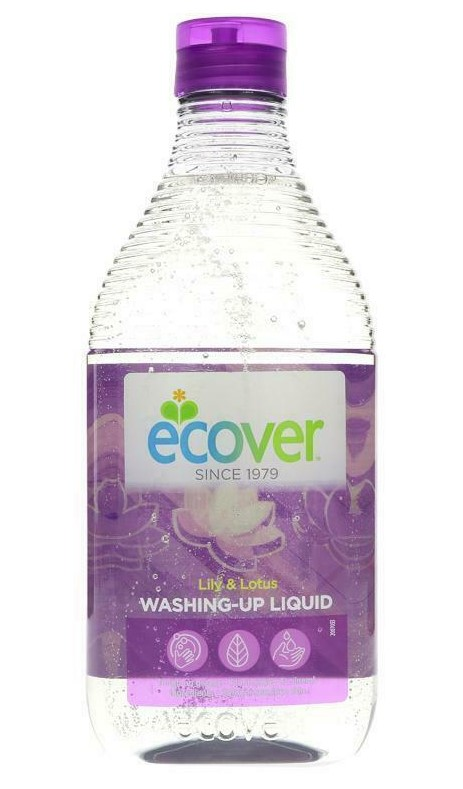 Ecover, Washing Up Liquid Lily & Lotus, 450ml