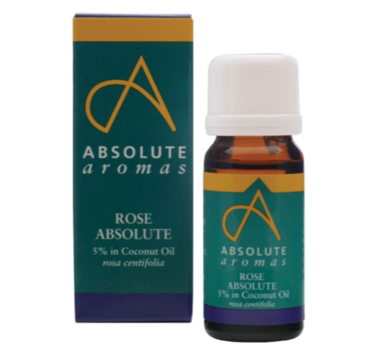 Absolute Aromas, Rose Absolute Oil 5% Dilution, 10ml