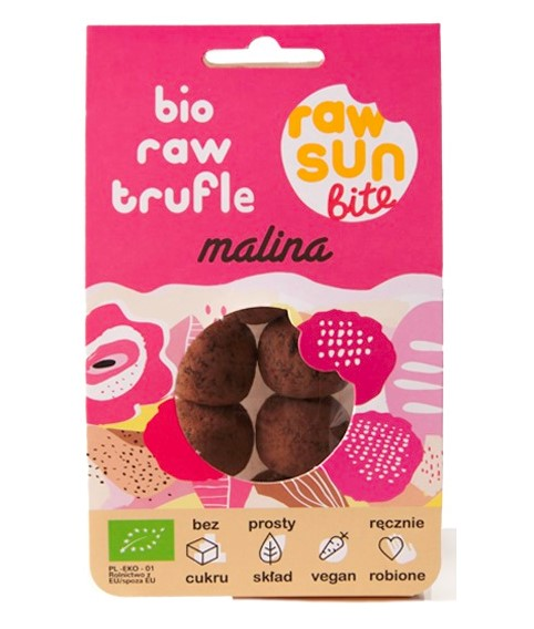 Raw Sun Bite, Raspberry Truffle, 105g