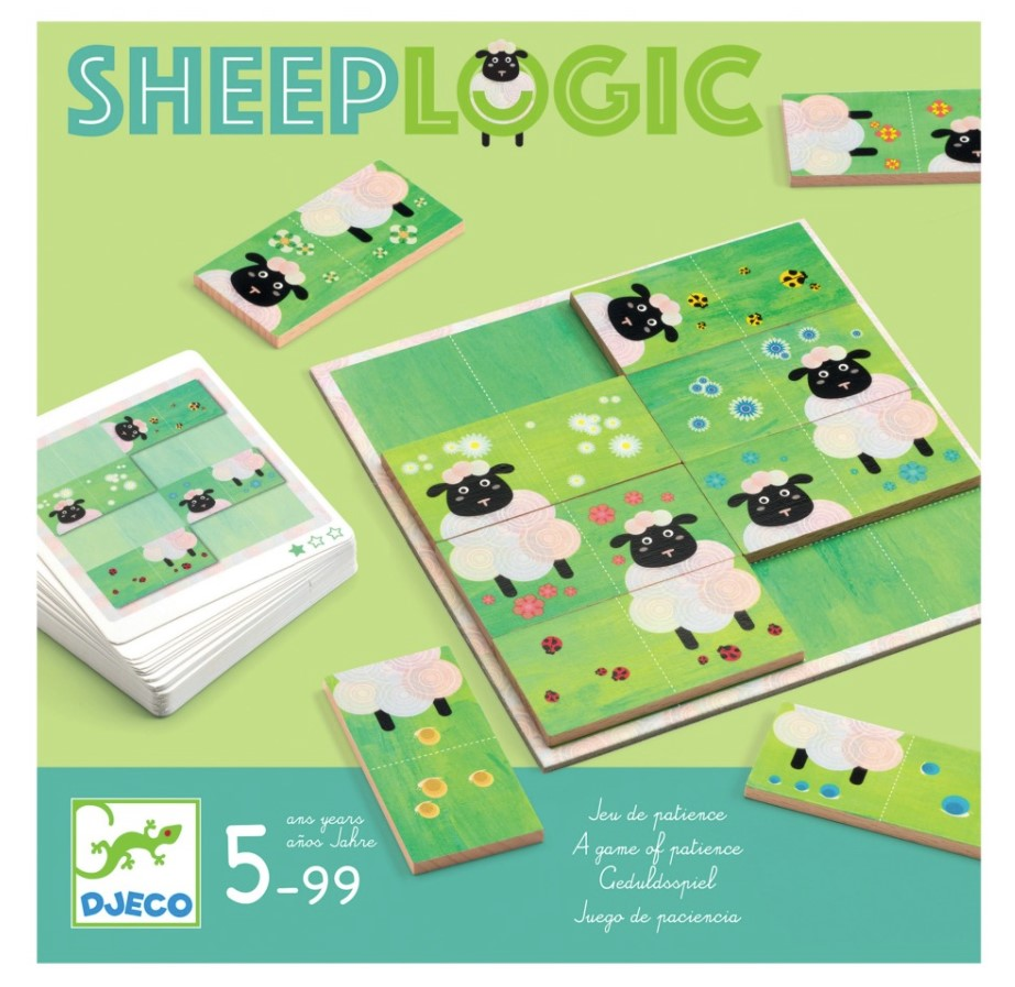 Djeco, Games Sheep Logics, 5+ years