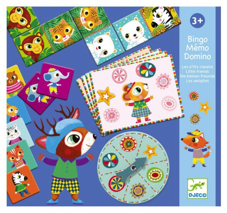 Djeco, Games Little Friends, 3+ years