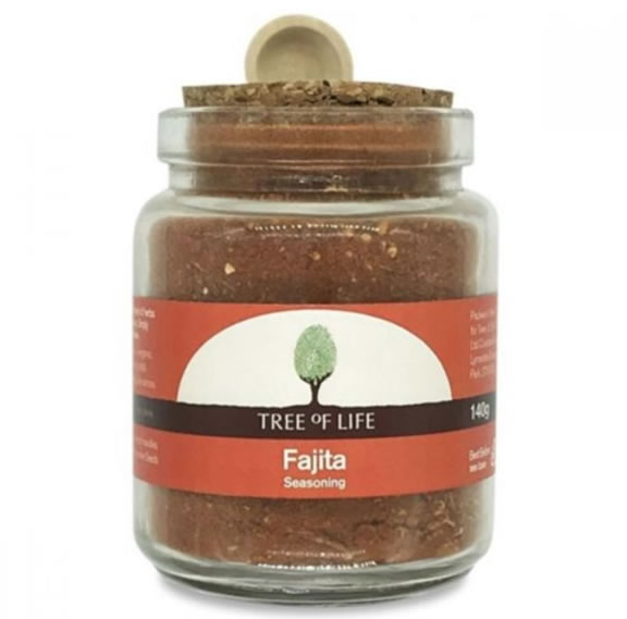 Tree Of Life, Fajita Seasoning, 140g