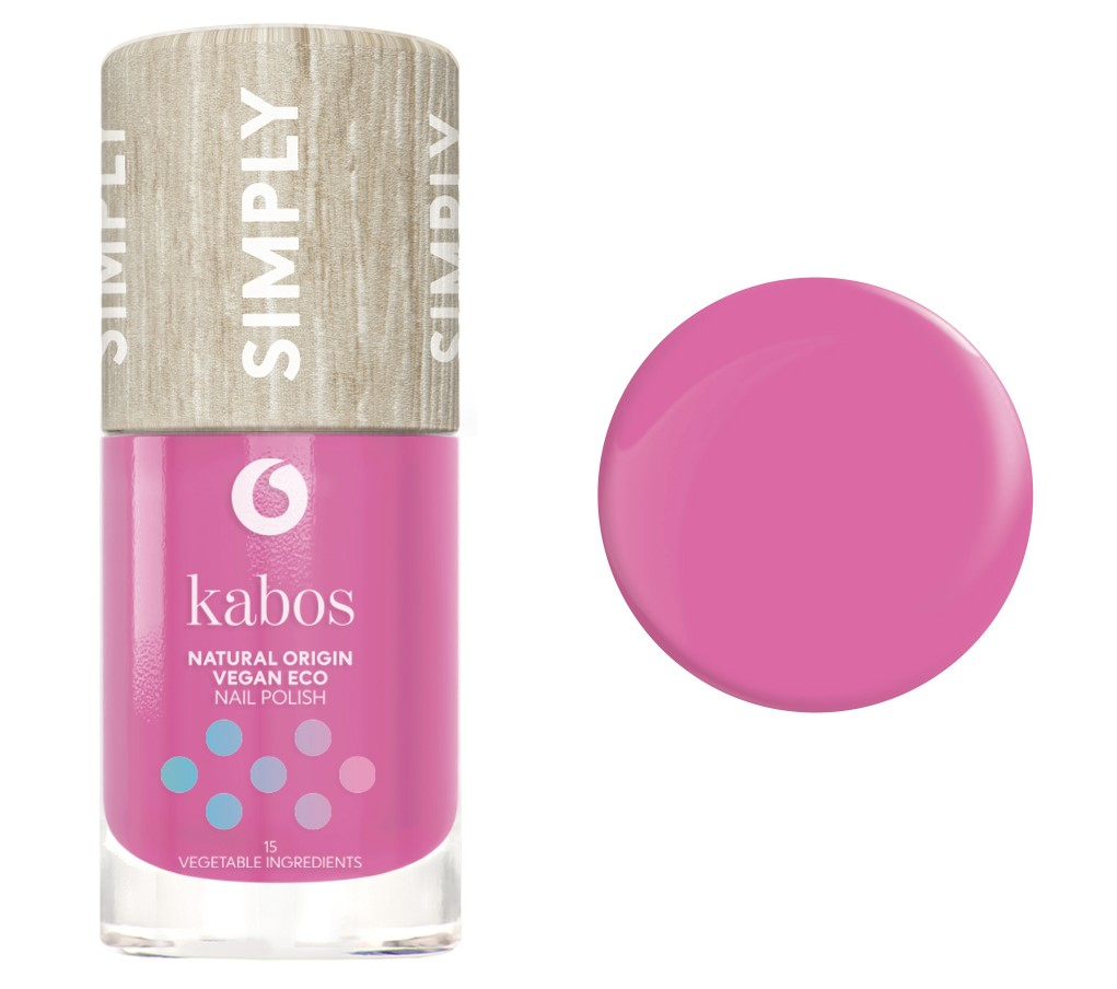 Kabos, Nail Polish Simply 15 Vegetable Ingredients