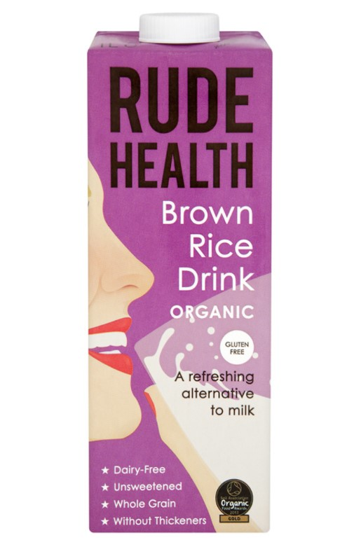 Rude Health, Brown Rice Drink, 1L