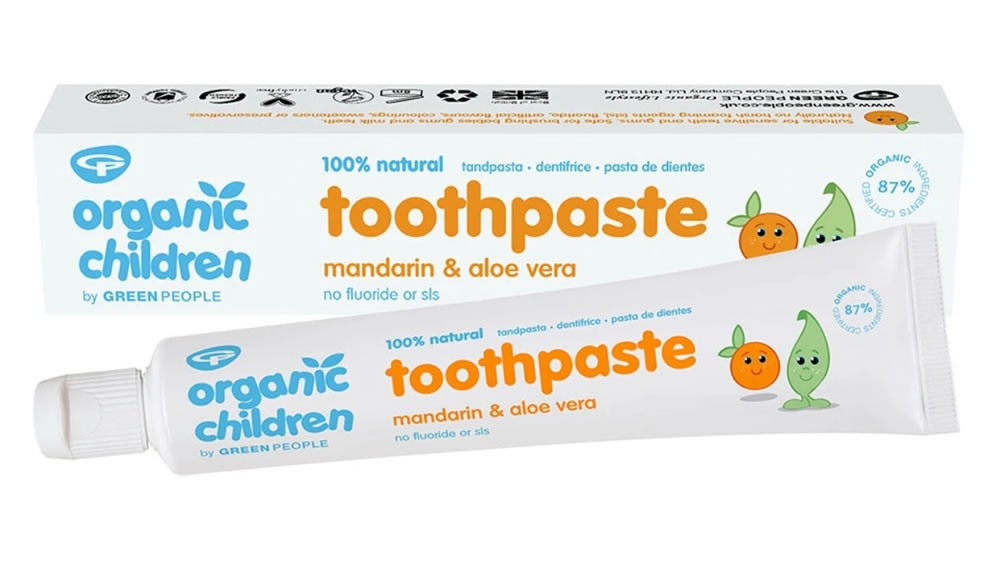Childs Mandarin & Aloe Vera Toothpaste, 50ml