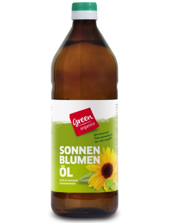 Sunflower Oil Cold-Pressed, 750ml