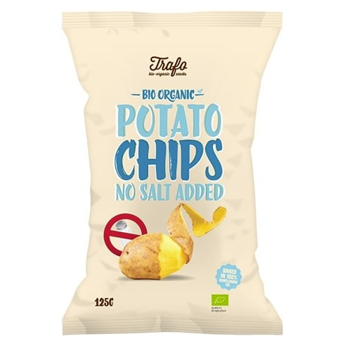 Trafo, No Salt Chips, 125g