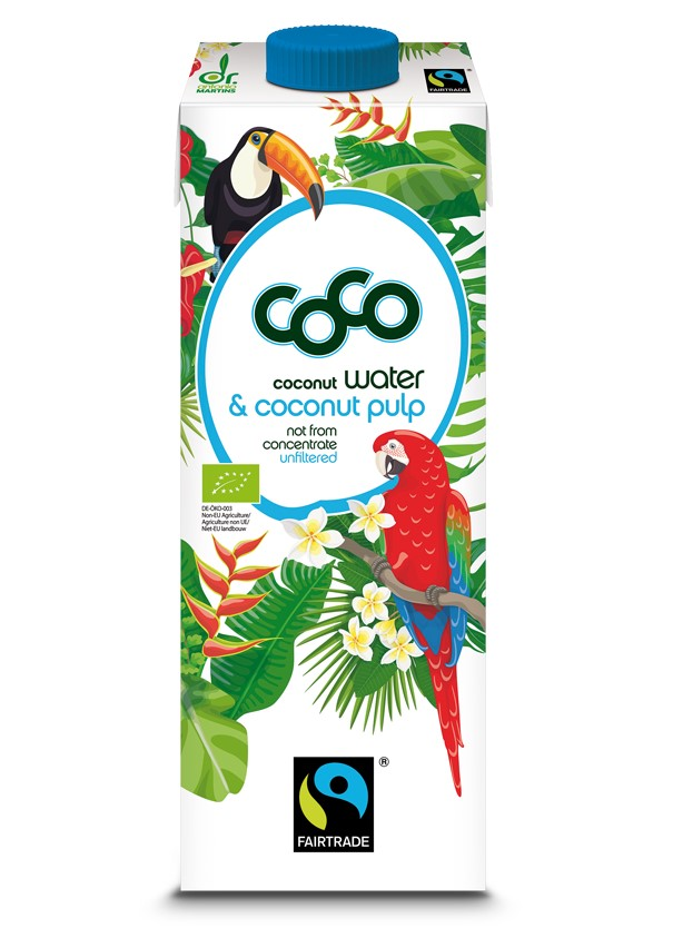 Coconut Water & Coconut Pulp, 1L