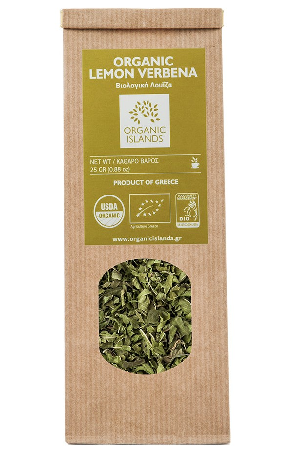 Organic Islands, Lemon Verbena, 30g