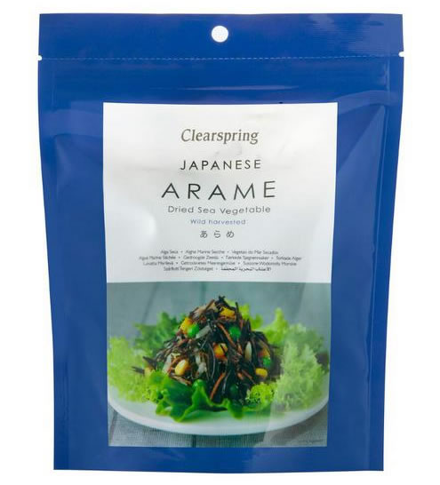 Japanese Arame - Dried Sea Vegetable, 30g