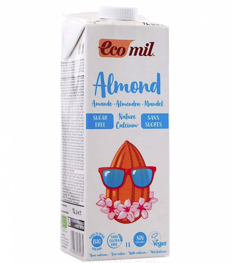 Almond Milk with Calcium, 1l