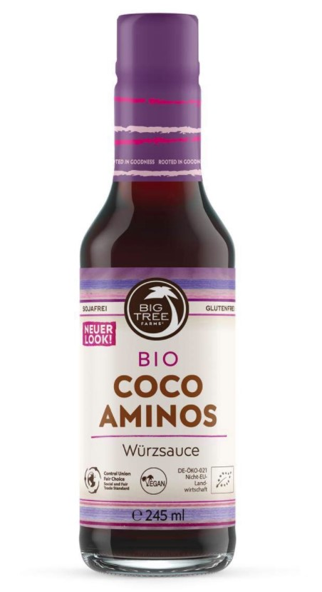 Big Tree Farms, Coco Aminos Seasoning Sauce, 245ml