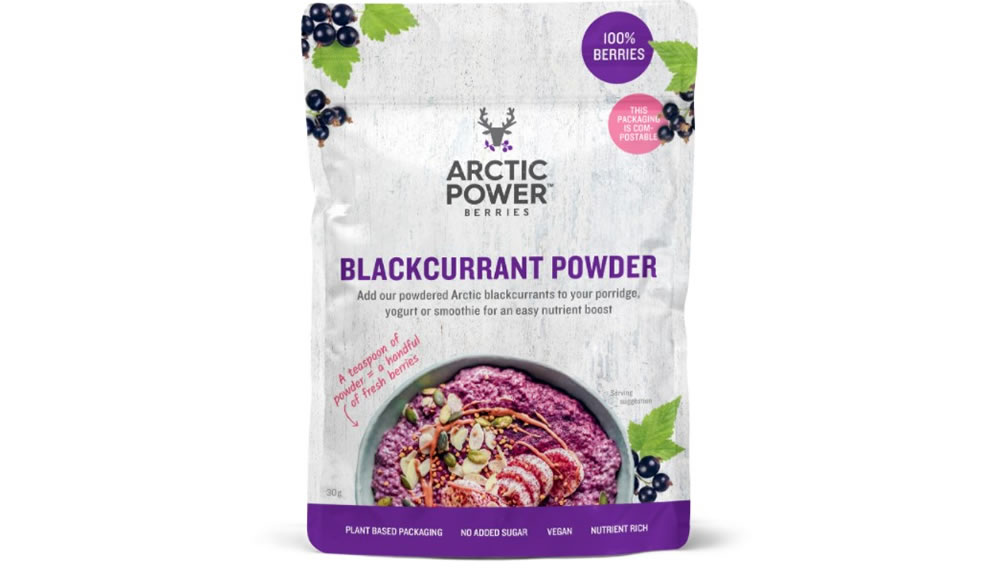Arctic Power Berries, Blackcurrant Powder, 30g