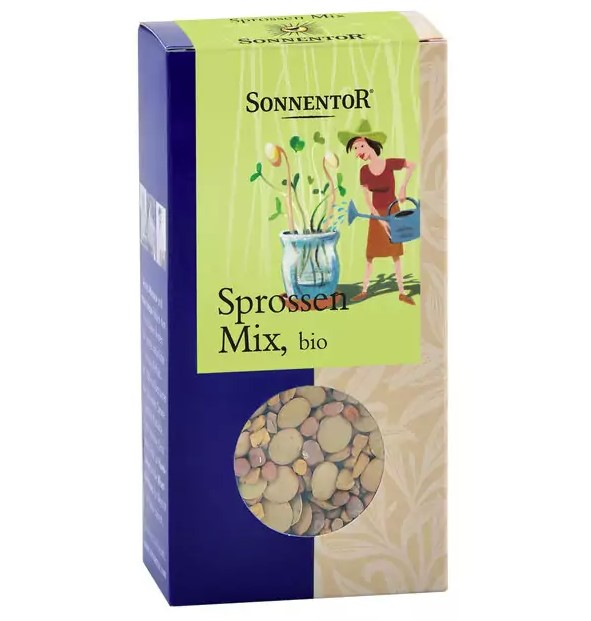 Sonnentor, Mixed Seeds Sprouts, 120g