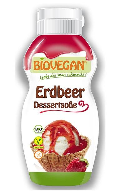 Biovegan, Strawberry Syrup, 240g