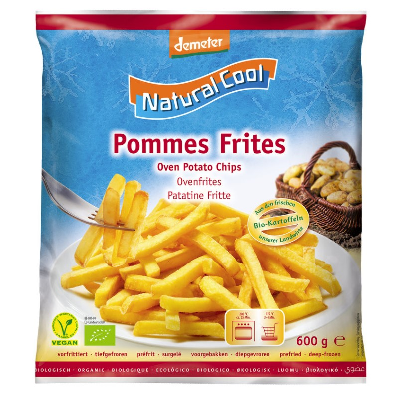 Natural Cool, Oven Potato Chips, 600g