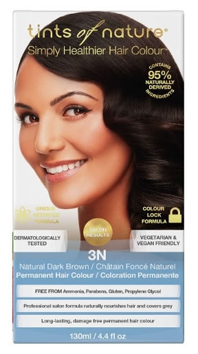 Tints of Nature, 3N Natural Dark Brown Permanent Hair Colour