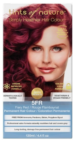 5FR Fiery Red Permanent Hair Colour