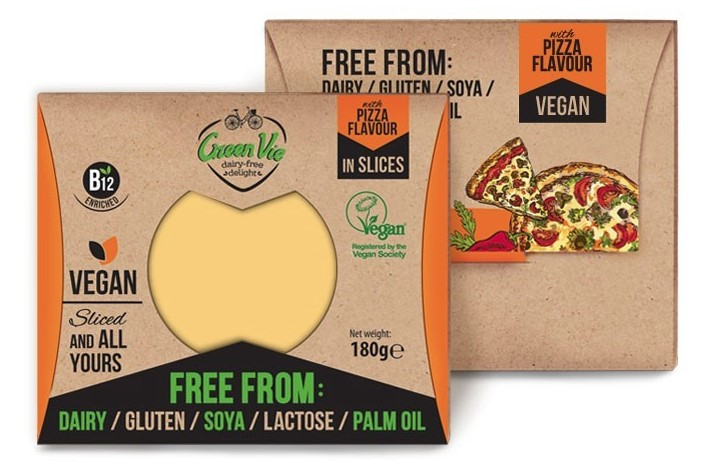 Green Vie, Pizza Flavour Slices, 180g