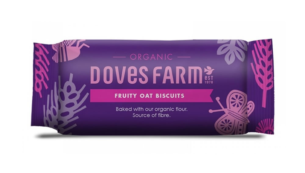 Doves Farm, Fruity Oat Biscuits, 200g