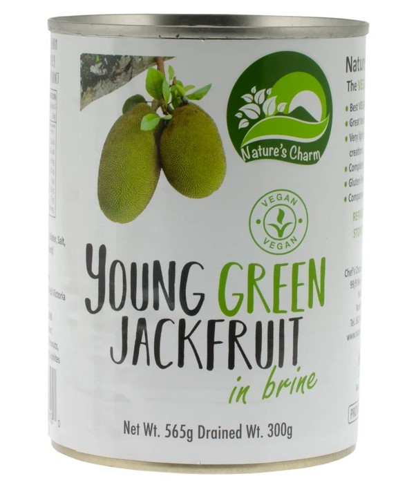 Nature's Charm, Young Green Jackfruit in Brine, 565g