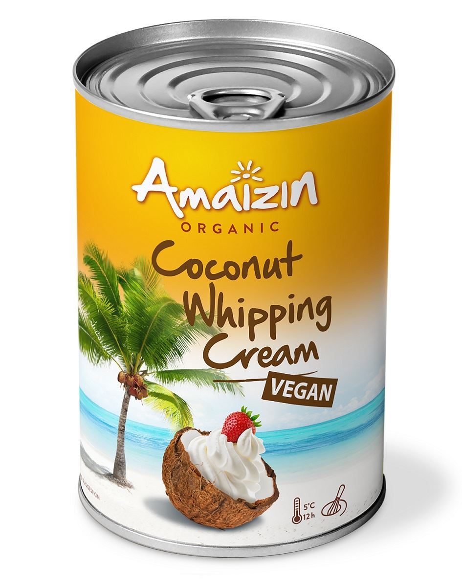 Amaizin, Coconut Whipping Cream, 400ml