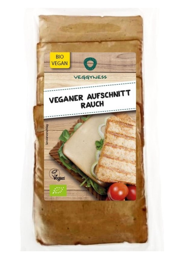 Veggyness, Smoked Ham Slices, 100g