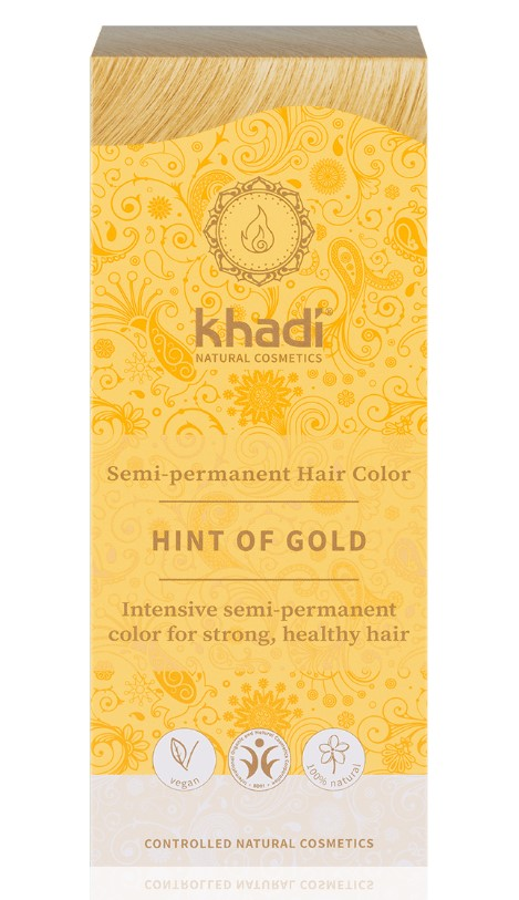 Hair Color Golden Hint