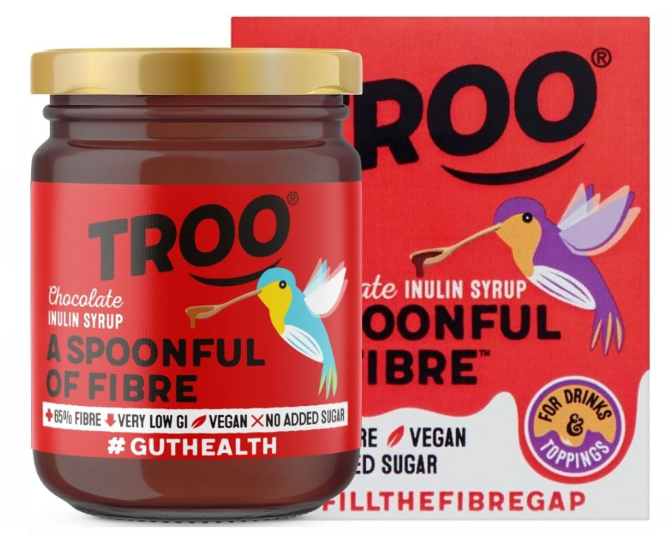 Troo, Chocolate Spoonful of Fibre, 227g