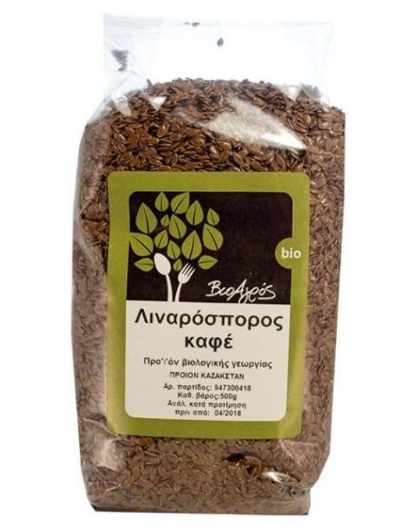 BioAgros, Brown Flaxseeds, 500g