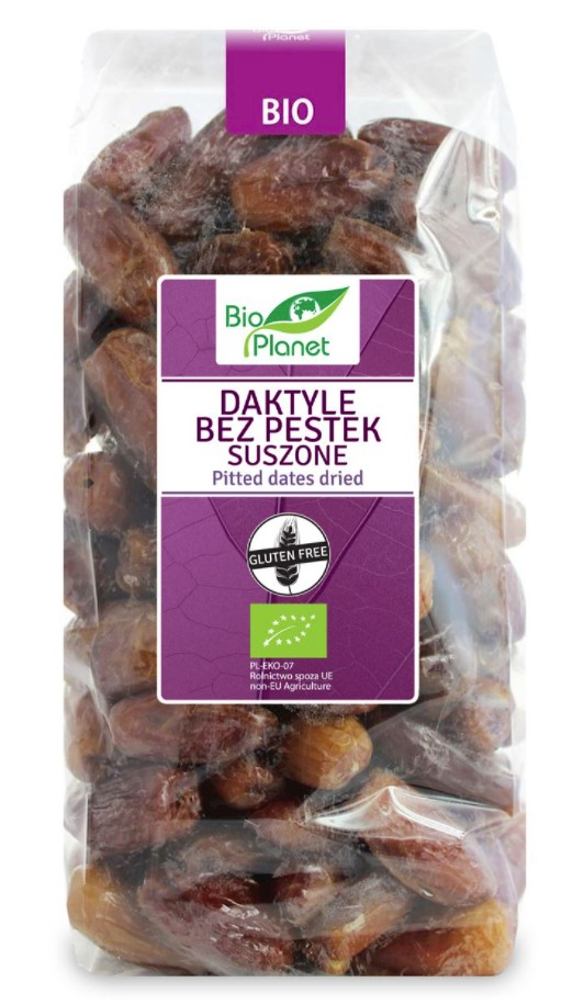 Bio Planet, Pitted Dates Dried, 1kg