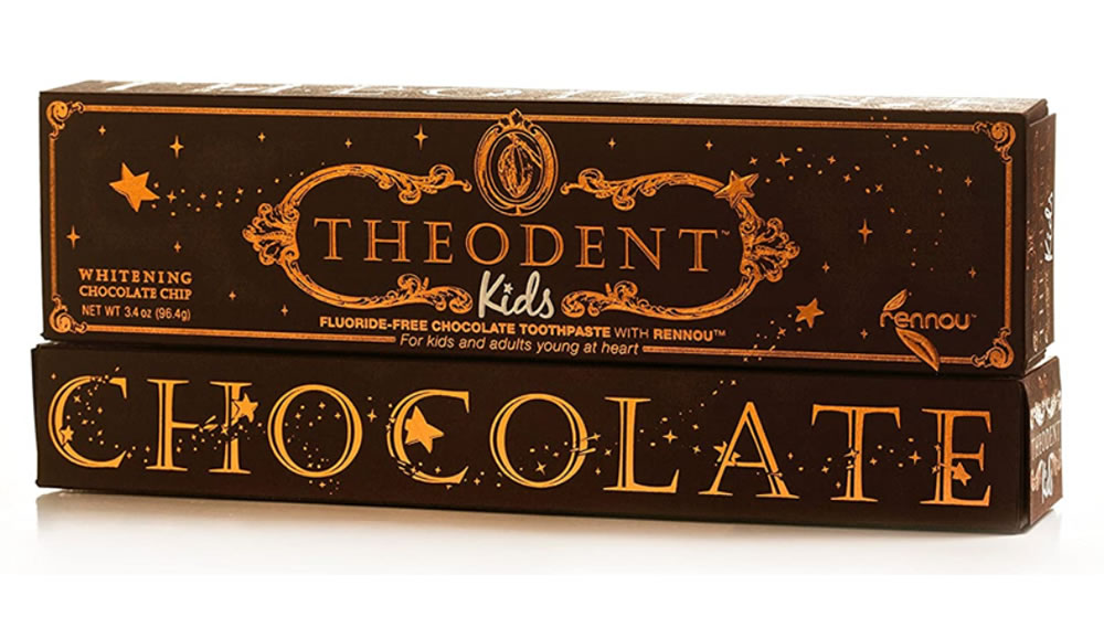 Theodent, Premium Kids Fluoride Free Cocoa Toothpaste, 96.4g