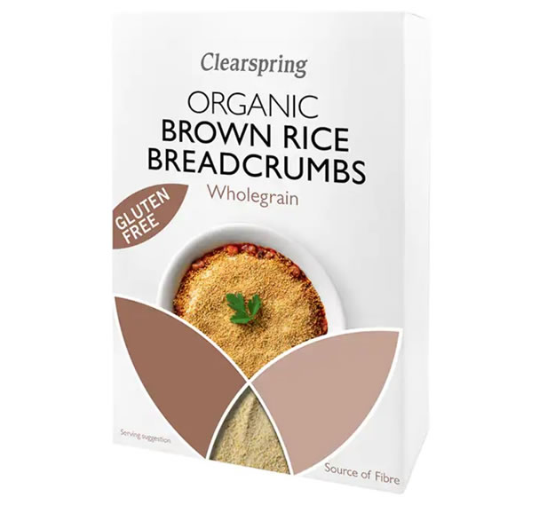 Clearspring, Brown Rice Breadcrumbs, 250g