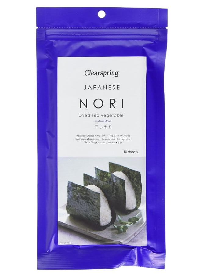 Japanese Sushi Nori - Dried Sea Vegetable, 17g