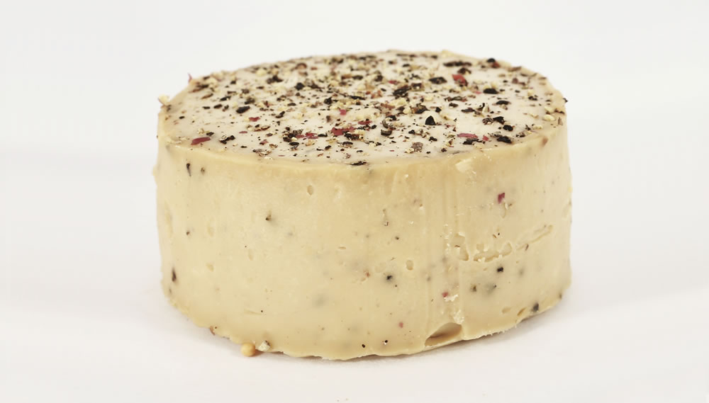 Healthy Delicious, Cashew Cheese Cracked Pepper & Balsamic, 115g