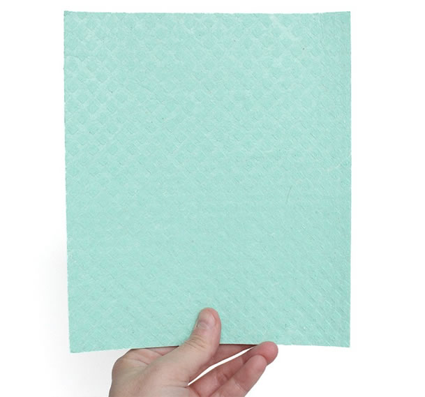 Ecological Cellulose and Cotton Sponge Wipe, Medium