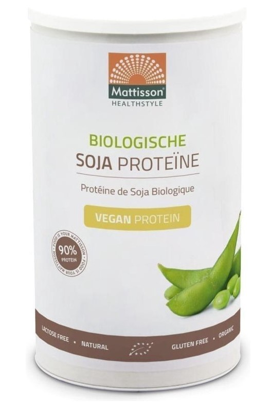 Mattisson, Soy Protein Powder 90%, 350g