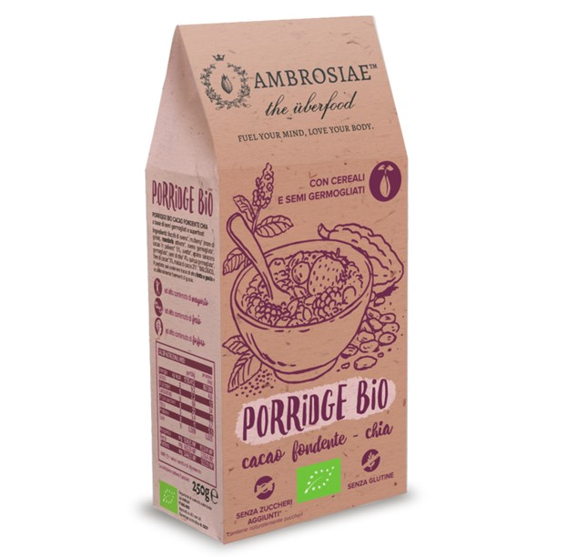 Oatmeal Porridge Dark Chocolate & Chia Seed, 250g