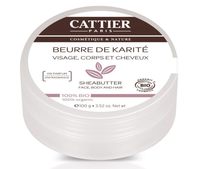 Cattier, Shea butter, 100g