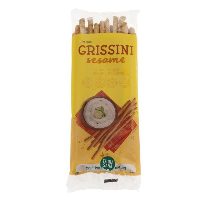 Terrasana, Grissini Wheat With Sesame, 125g
