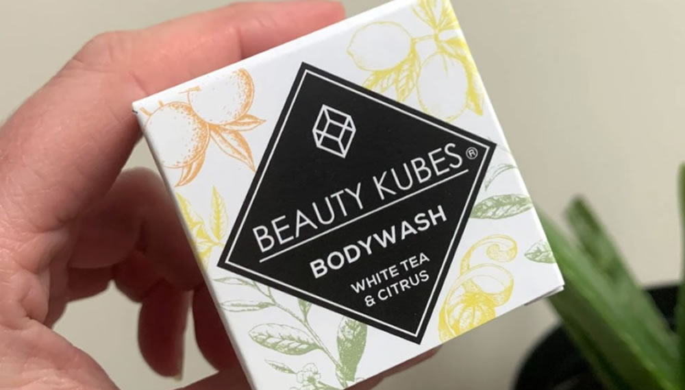 Beauty Kubes, Body Wash White Tea & Citrus