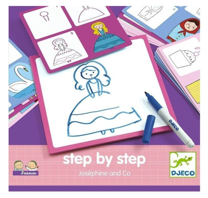 Djeco, Step by Step Josephine & Co, 4+ years