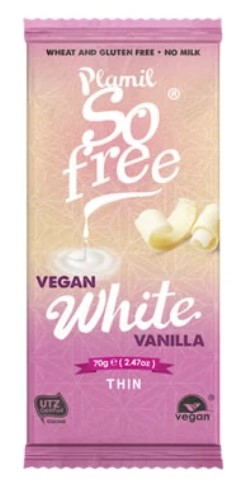 Plamil, White Chocolate, 70g