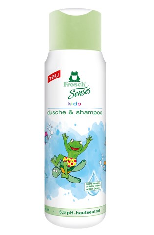Kids Showergel & Shampoo, 300ml