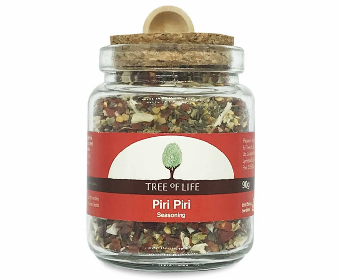 Tree Of Life, Piri Piri Seasoning, 90g