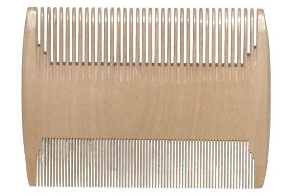 Double Wooden Comb