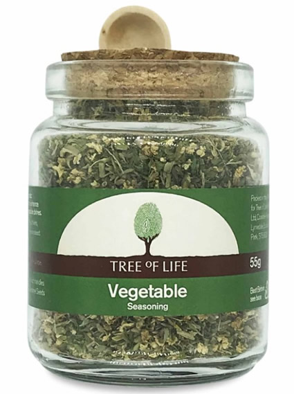 Tree Of Life, Vegetable Seasoning, 55g
