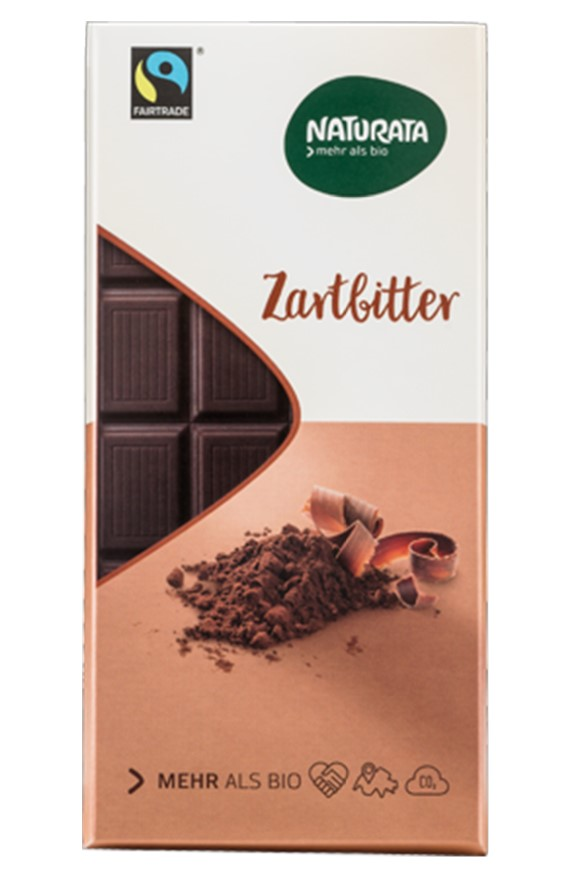 Naturata, Dark Chocolate 57% Cocoa, 100g