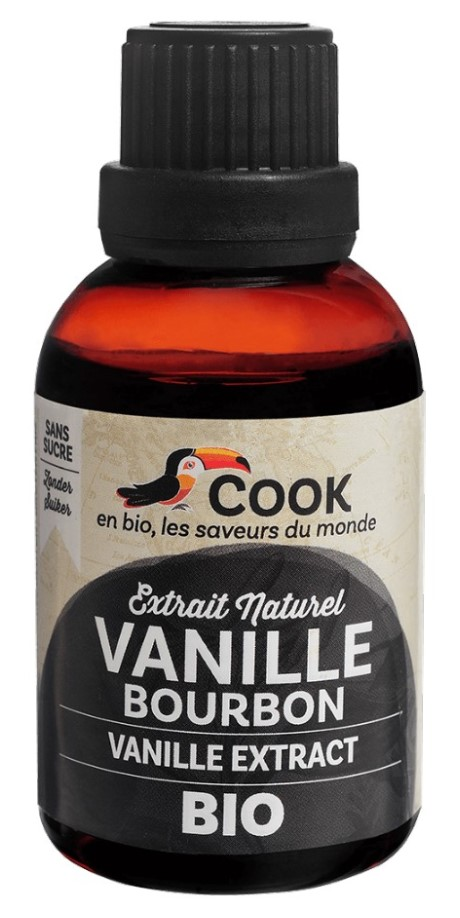 Cook, Vanilla Bourbon Extract, 50ml