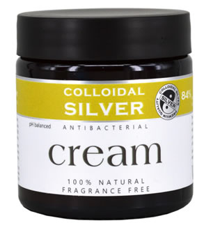 Colloidal SIlver Antibacteral Cream with Coconut Oil, 100 ml
